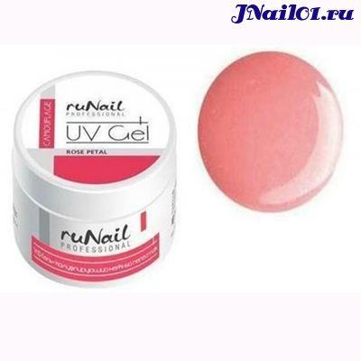 RuNail Гель камуфлирующий розовый/нежный лепесток 15г